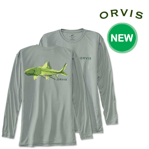 [ORVIS] BONEFISH BONES TECH T-SHIRT