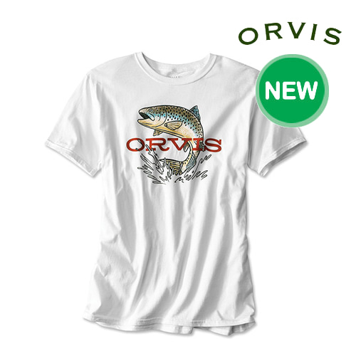 [ORVIS] EARLY RISE TROUT T-SHIRT