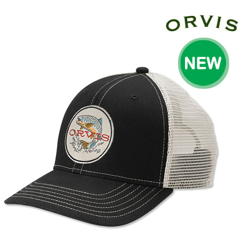 [ORVIS] EARLY RISE TROUT TRUCKER  오비스 모자