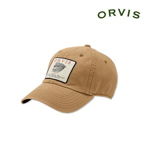 [ORVIS] Vintage Salmon Fly Twill Cap