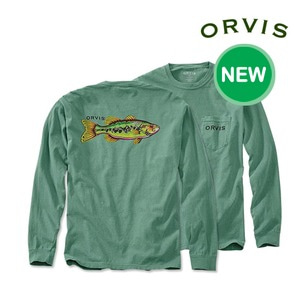 [ORVIS] Bucket Mouth Long-Sleeved Pocket T-Shirt
