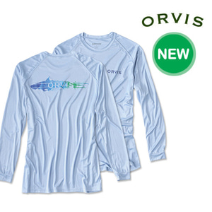 [ORVIS] TARPON RUN LONG-SLEEVED TECH T-SHIRT