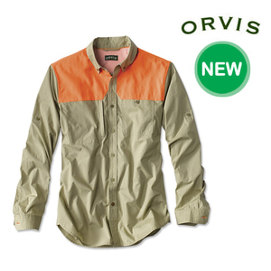 [ORVIS] PAGE COTTON FEATHERWEIGHT SHOOTING SHIRT