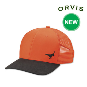 [ORVIS] MESH BACK WAXED BRIM HAT 메쉬백 왁시드 헌팅캡
