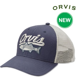 [ORVIS] SALTWATER SLAM TRUCKER NAVY  오비스 모자