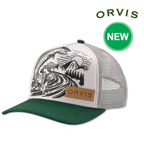 [ORVIS] JUMPING TROUT FOAM DOME 오비스 모자