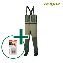 [AQUAZ] DRYZIP Chest wader